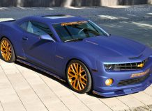 Chevrolet Camaro SS Blaumatt Gold фото