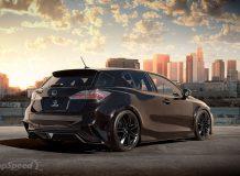 Фото тюнинг Lexus CT 200h от Five Axis
