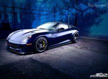 Фото суперкара Ferrari 599 GTX