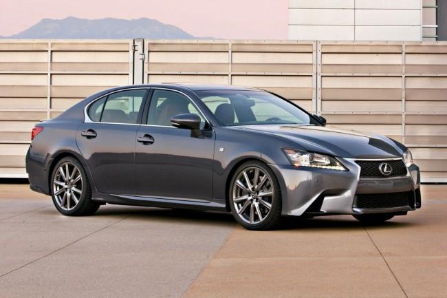 Lexus GS F Sport фото