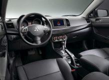 Фото салона Mitsubishi Lancer X