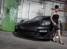 Porsche Panamera S Hellboy фото