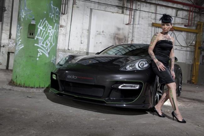 Porsche Panamera S Hellboy от ателье Edo Competition
