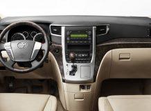 Фото салона Toyota Alphard 2