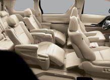 Интерьер Toyota Alphard фото