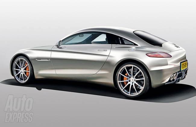 Рендер будущего Mercedes SLC