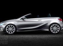 Рендер кабриолета на базе нового Mercedes A-Class