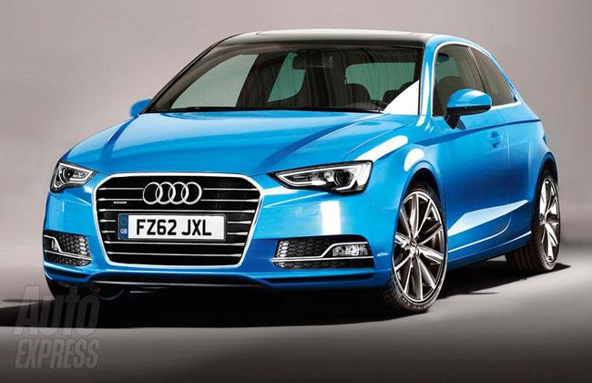 Так может выглядеть хэтчбек Audi A3 нового поколения