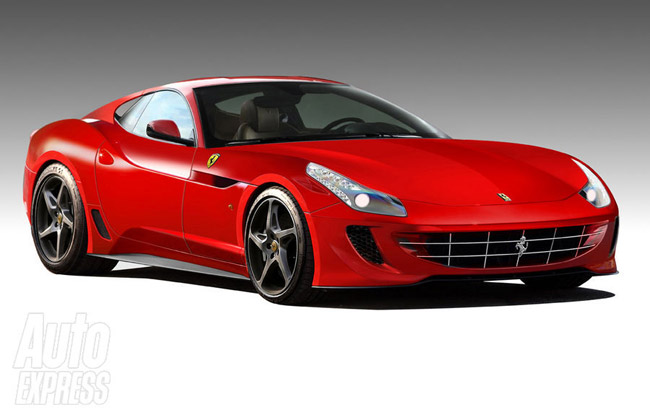 Так может выглядеть будущий Ferrari 599 GTB