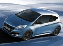 Рендер будущего Peugeot 208 GTi