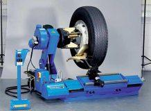 Шиномонтажный стенд для грузовых колес