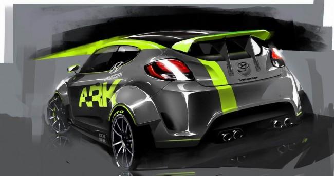 ARK Performance готовят Hyundai Veloster к SEMA 2011