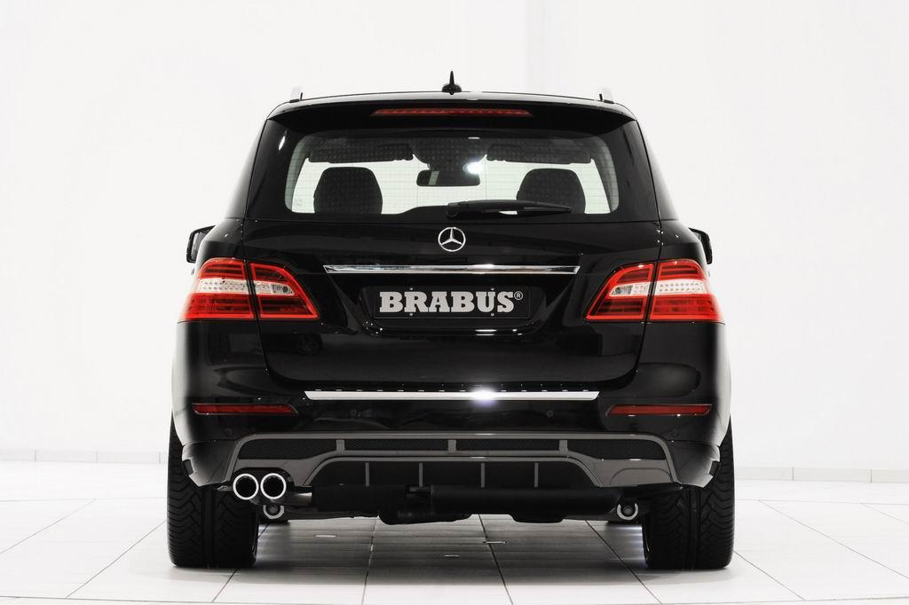 Тюнинг нового Mercedes ML350 от Brabus