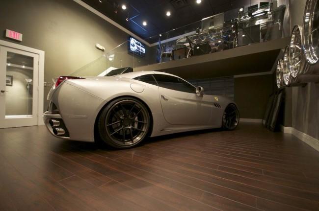 Ferrari California 3S Silver Carbon Fiber от ателье DMC