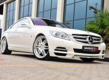Фото тюнинг Mercedes CL 600 от Brabus