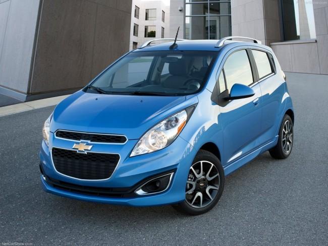 Новый Chevrolet Spark выходит на рынок США