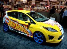 Ford Fiesta от Hot Wheels на SEMA 2011