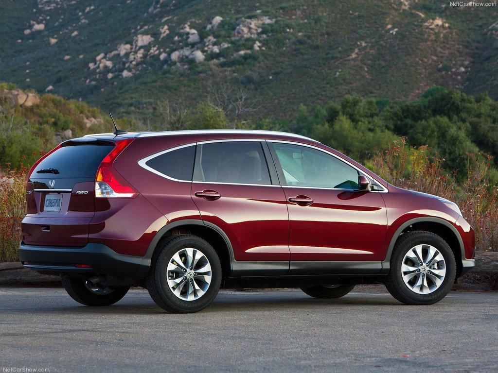 Фото новой Хонда СР-В 2012