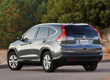 Новая Хонда СР-В 2012