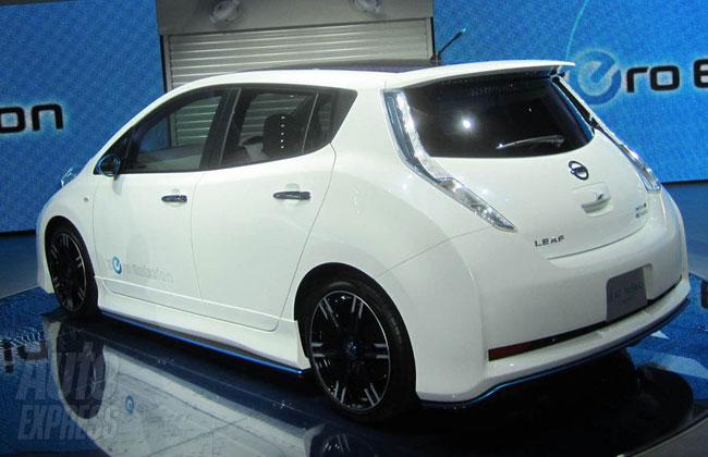 Тюнинг Nissan Leaf от ателье NISMO фото