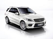 Фото Mercedes-Benz ML63 AMG (W166)