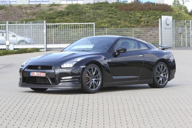 Обновленный Nissan GTR получил 550 л.с.
