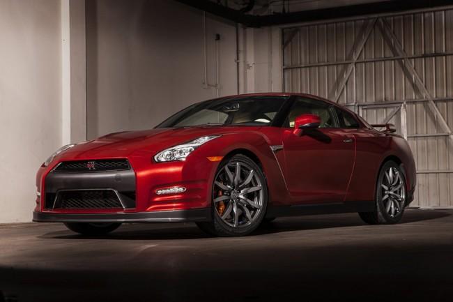 Обновленный Nissan GT-R 2014