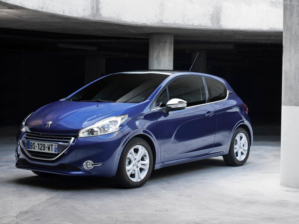 Peugeot 208 3D фото