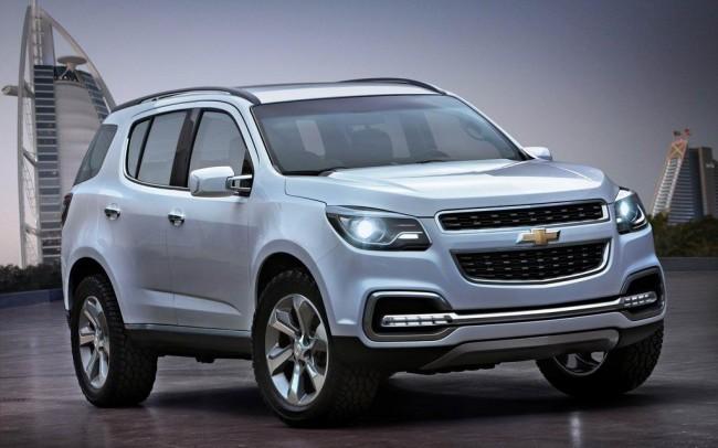 Chevrolet рассекретил внешность TrailBlazer Concept