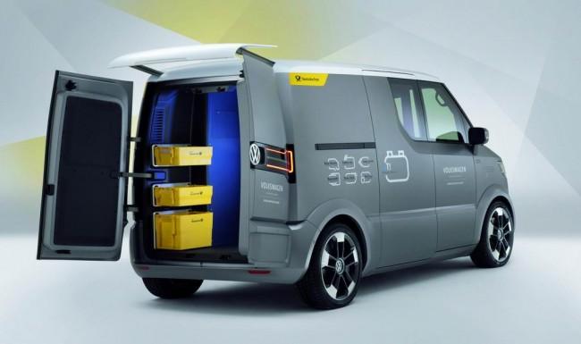 Volkswagen представил элетрический eT! Concept