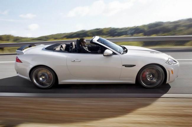 Jaguar представил самый мощный кабриолет XKR-S Convertible