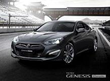 Первые фото Genesis Coupe 2012