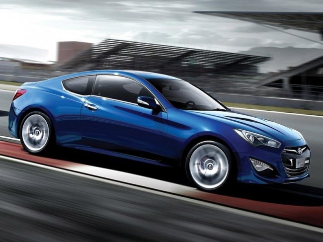 Hyundai показал внешность Genesis Coupe 2012