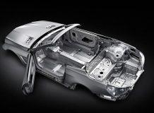 Кузов нового Mercedes SL 2013