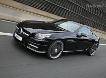 Фото тюнинг нового Mercedes SLK 2011