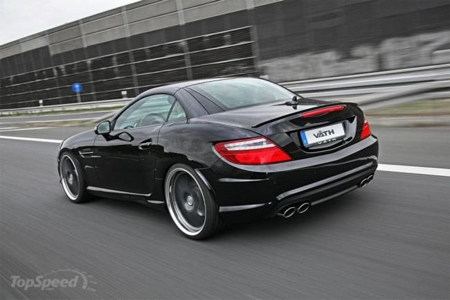 Тюнинг нового Mercedes SLK от Vath Performance