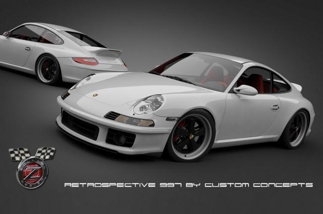 Retro Styling Kit для купе Porsche 911 (997)