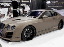 Bentley Continental на SEMA 2011