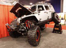 Тюнинг Jeep Wrangler на SEMA 2011