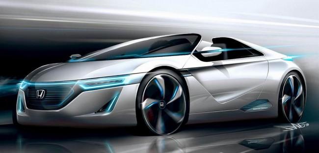 Honda готовит несколько концептов к автосалону в Токио