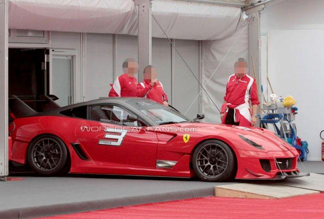 Ferrari готовит экстремальное купе 599ХХ Evolution