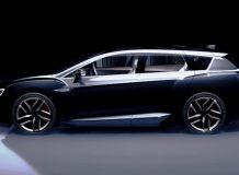 Тизер универсала Subaru Advanced Tourer Concept