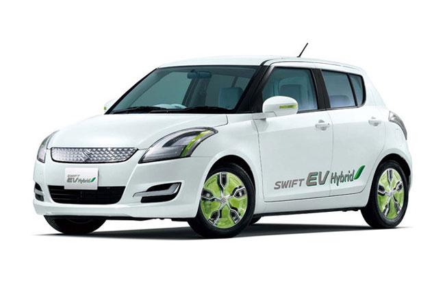 Suzuki привезла в Токио Swift EV Hybrid