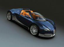 Синий Veyron Grand Sport Middle East Edition