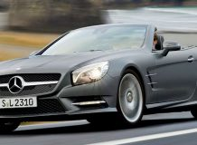 Новый Mercedes-Benz SL 2013 года
