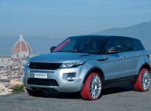 Тюнинговый Range Rover Evoque HFI-R фото