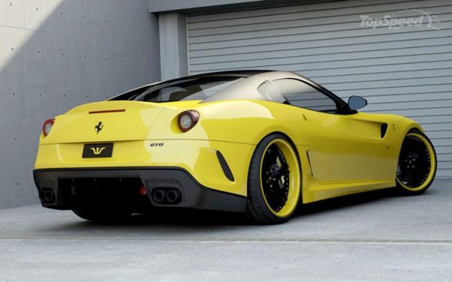 Тюнинг суперкара Ferrari 599 GTO от Wheelsandmore