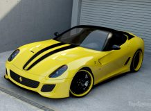 Тюнинговый суперкар 599 GTO от Wheelsandmore