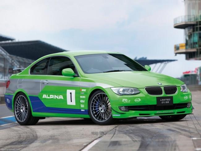 В Токио дебютировало купе Alpina BMW B3 GT3 2012