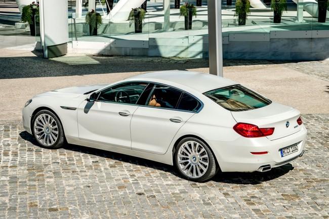 BMW 6 Gran Coupe рестайлинг